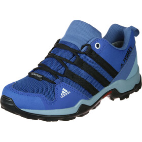 adidas TERREX AX2R ClimaProof Chaussures outdoor Enfant, blue/core black/ash grey